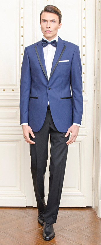 Gentlemen`s Corner Slim Fit Dinner Suit - Derby