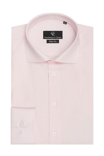 Miles Light Pink Shirt - Button Cuff
