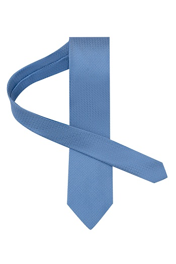 Gentlemen`s Corner Silk Tie - Light Blue