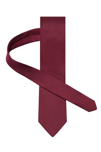 Gentlemen`s Corner Dark Garnet Silk Tie