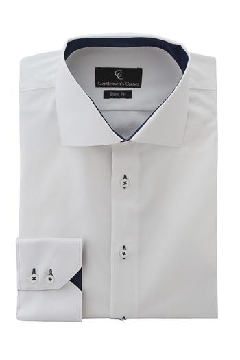 Mali White Shirt - Button Cuff
