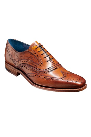 Barker McClean Shoes - Antique Rosewood Paisley
