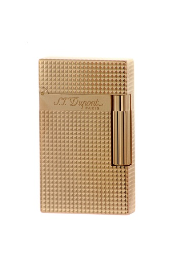 S.T. Dupont Lighter - Cote d`Azur - Pink-Gold Diamond Head