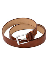 Gentlemen`s Corner Deluxe Leather Belt - Cognac