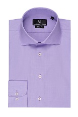 Purple Shirt - Button Cuff