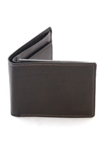 Luciano Pollini Leather Wallet - Black