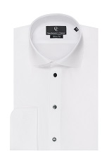 Thomas White Dress Shirt