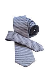 Valentino Linen/Silk Tie - Blue Chic