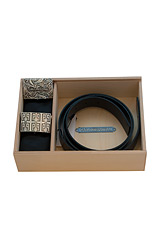 Carlo Pignatelli Leather Belt - Cerimonia DOUBLE FACE