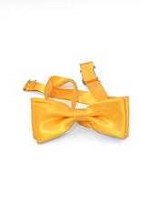 Yellow Satin Bow Tie