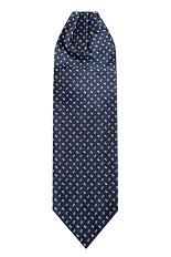 Gentlemen`s Corner Silk Ascot Tie - Pompei
