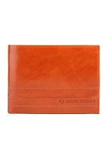 Sergio Tacchini Leather Wallet - Cognac
