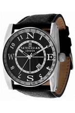 Tateossian Gulliver Sports Watch - Black