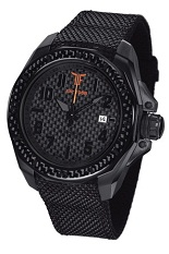 TF Est. Automatic Black PVD Watch - Orange Logo