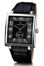 MILUS WATCH - HERIOS AUTOMATIC STEEL - BLACK