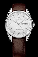 MILUS WATCH - TIRION CLASSIC STEEL - BROWN