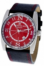 Tateossian Gulliver Sports Watch - Red