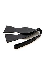 Lloyd Attree & Smith Twill Silk Self-Tie Bow Tie - Large Black
