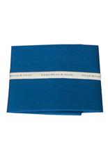 Shantung Silk Pocket Square - Blue