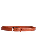Pierre Cardin Cognac Leather Belt