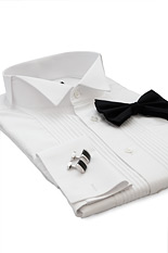 Sandringham White Dress Shirt - Double Cuff