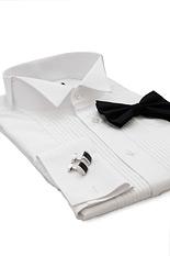 Sandringham White Dress Shirt - Double Cuff