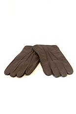 Sheepskin Nappa Leather Gloves - Brown
