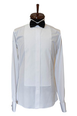 Roma White Dress Shirt - Double Cuff