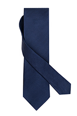 Gentlemen`s Corner Royal Blue Twill Silk Tie