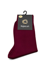 Bordeaux Cotton Socks