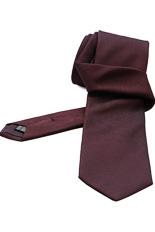 Gentlemen`s Corner Jacquard Silk Tie - Fine Dots Garnet