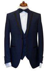 Gentlemen`s Corner Slim Fit Dinner Jacket - Derby
