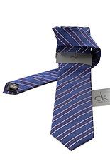 CK Calvin Klein Tie - Blue Lines