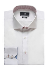 Roma White Shirt - Button Cuff