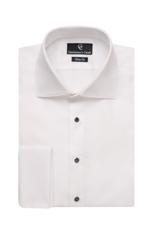 Piquet White Dress Shirt