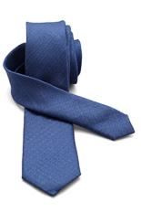 Valentino Silk Tie - Blue Linen