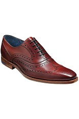 Barker McClean Shoes - Rosewood Calf