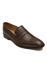 Gentlemen`s Corner Loafers - Dark Brown
