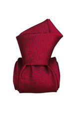 Gentlemen`s Corner Textured Red Luxury Silk Tie