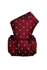 Gentlemen`s Corner Burgundy Luxury Silk Tie
