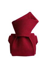 Gentlemen`s Corner Red Luxury Silk Tie