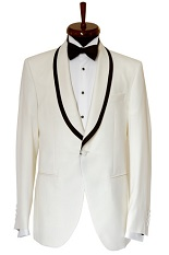 Gentlemen`s Corner White Dinner Jacket - Nobility