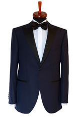 Gentlemen`s Corner Slim Fit Dinner Jacket - Hamilton Blue