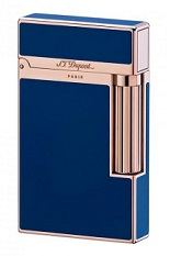 S.T. Dupont Ligne 2 Lighter - Blue Chinese lacquer