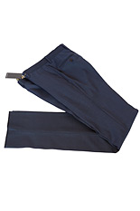Gentlemen`s Corner Blue Slim Fit Trousers - Jeremy
