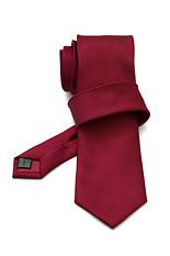 Gentlemen`s Corner Textured Bordeaux Silk Tie
