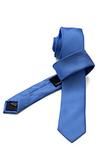 Gentlemen`s Corner Light Blue Slim Silk Tie