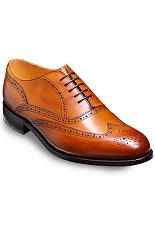 Barker Newport Shoes - Cedar Calf