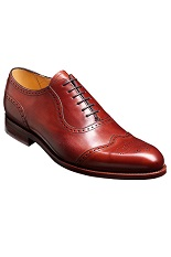 Barker Linz Shoes - Rosewood Calf