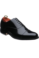 Barker Winsford Shoes - Black Polish